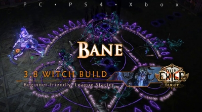[Witch] PoE 3.8 Bane Occultist League Starter Build (PC, PS4, Xbox)